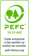 Certification PEFC - JOSSO